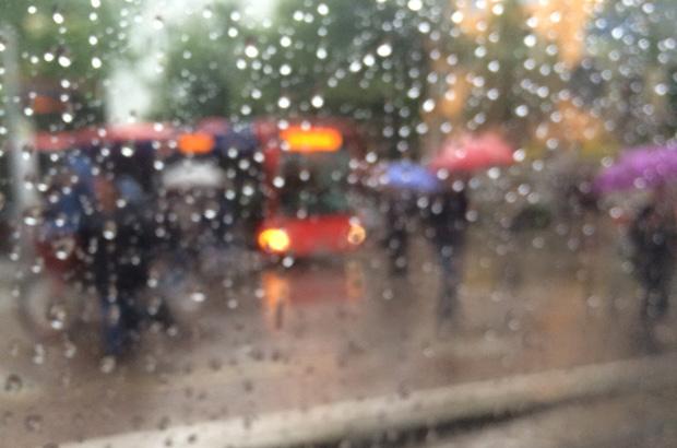 Bei düsterem Wetter, Regen und Nebel hilft bunte Kleidung, damit man besser im Straßenverkehr gesehen wird.