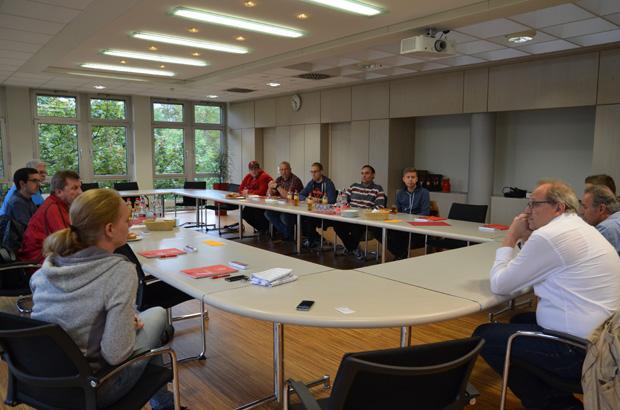 Unsere Gäste und die VAG Experten sprachen eine Stunde über Themen rund um die VAG.