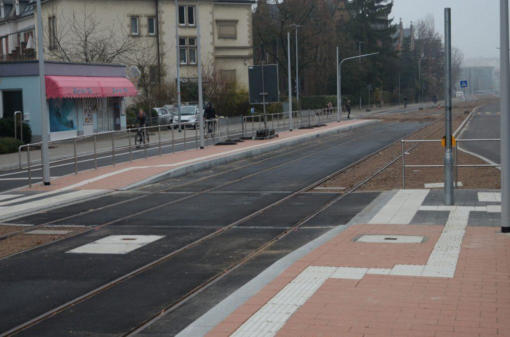 Kronenstraße Gleisquerung