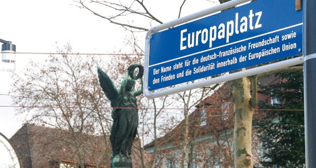 Der neue Europaplatz