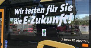 E-Bus Wir testen für Sie die E-Zukunft